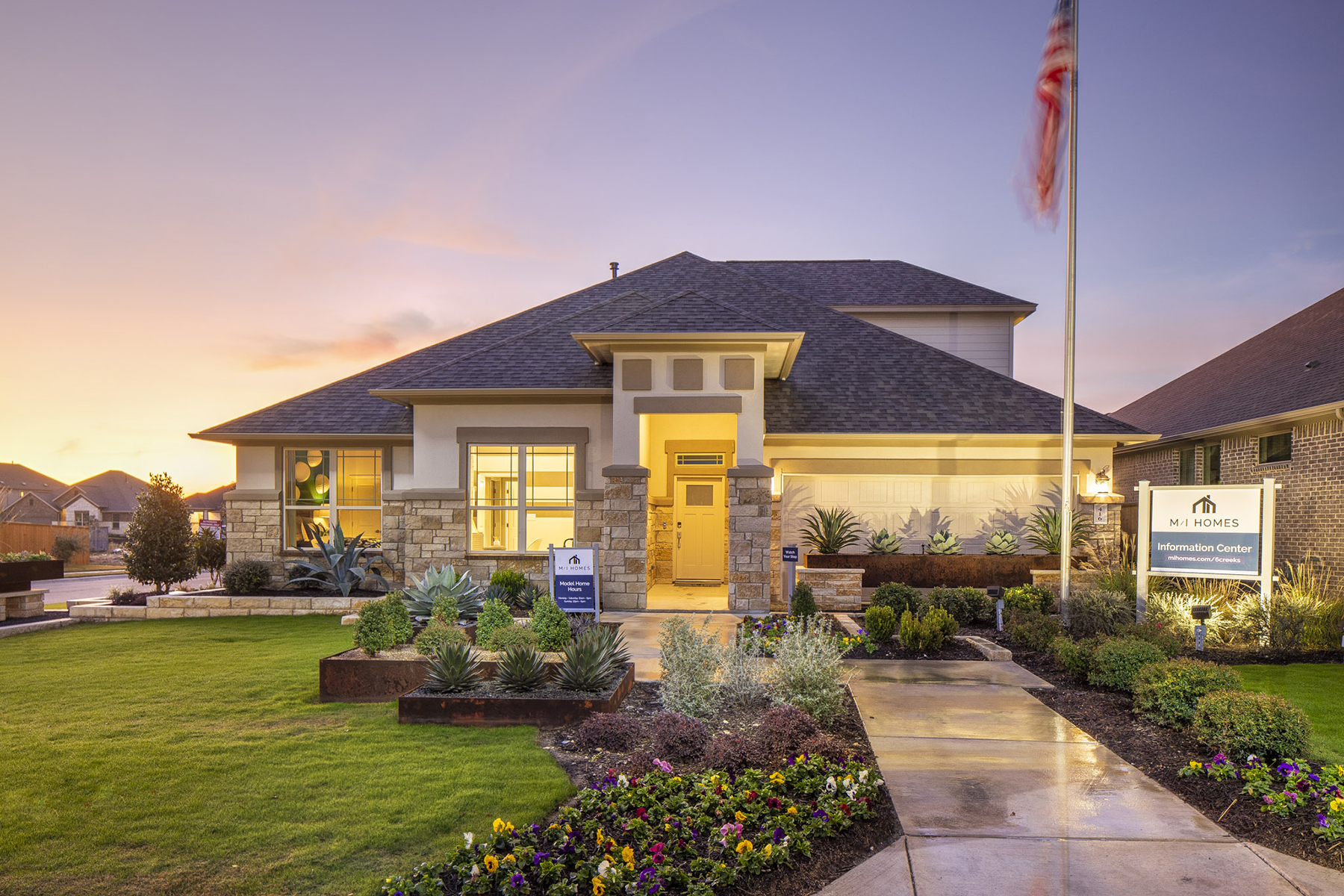 6 Creeks New Homes In Kyle Tx M I Homes