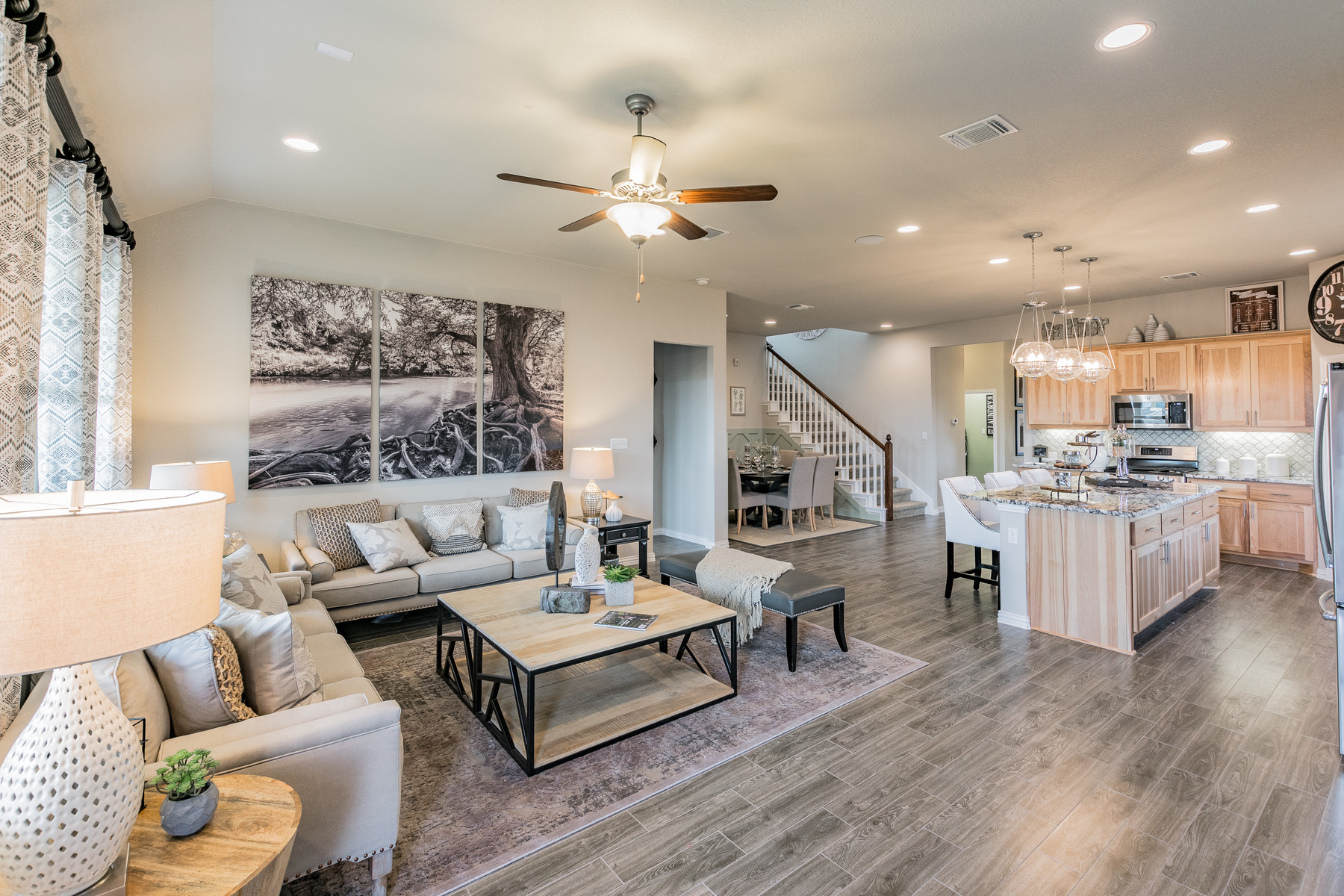 Carmel Creek Family Room