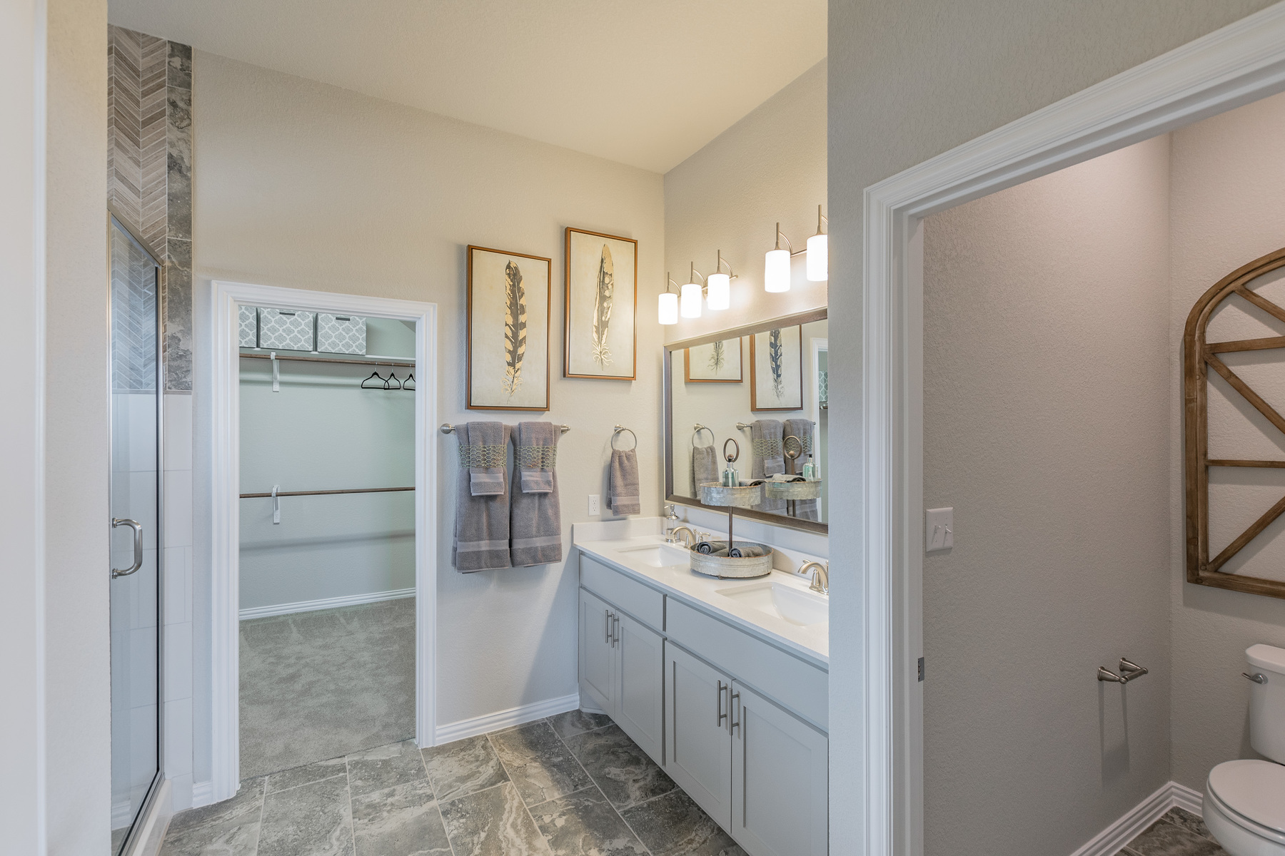 Carmel Creek Master Bathroom
