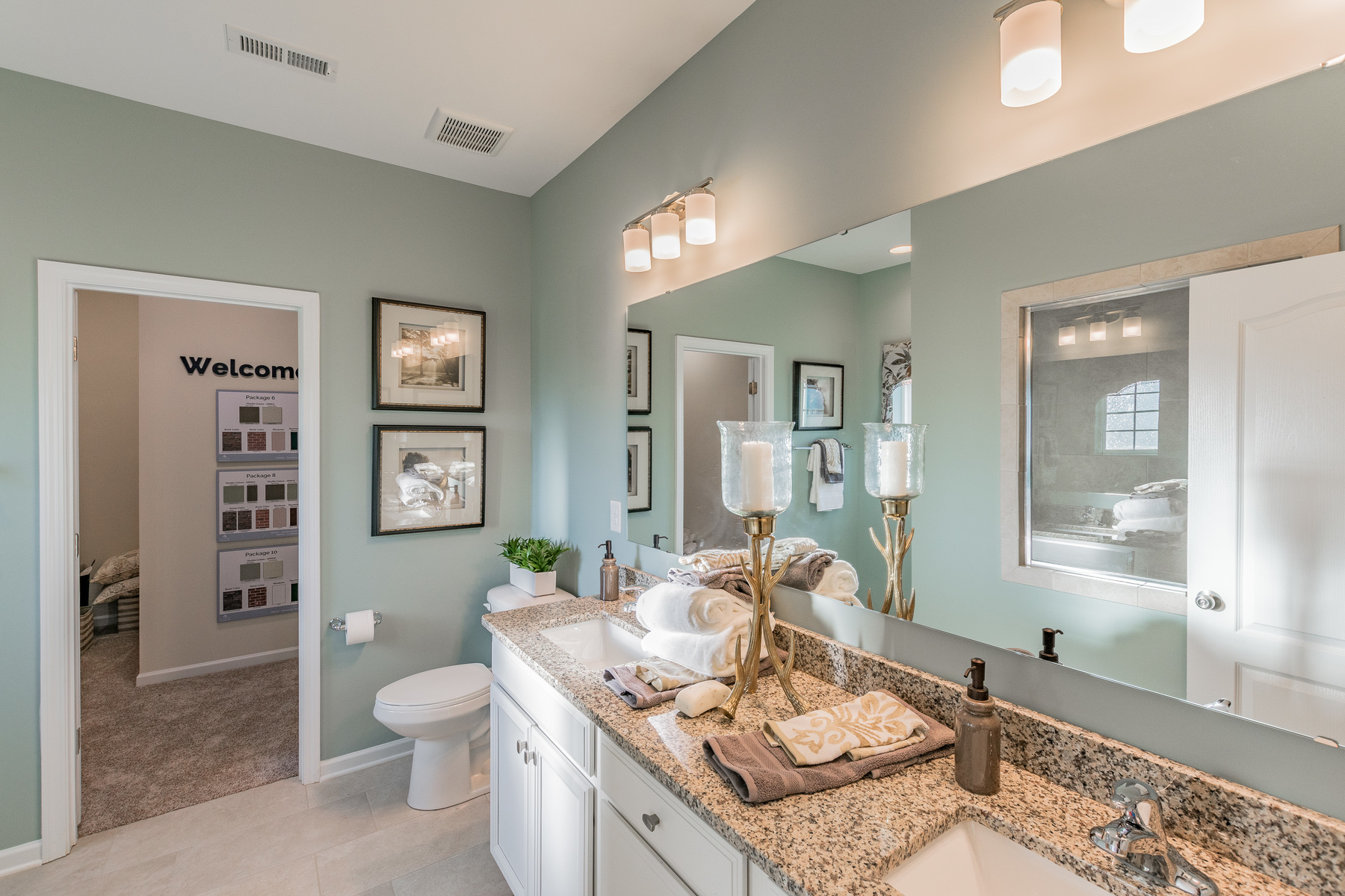 Heritage Neel Ranch Master Bathroom