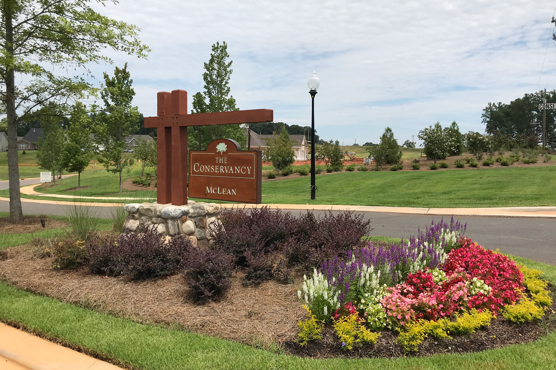 McLean - The Conservancy Community Entrance