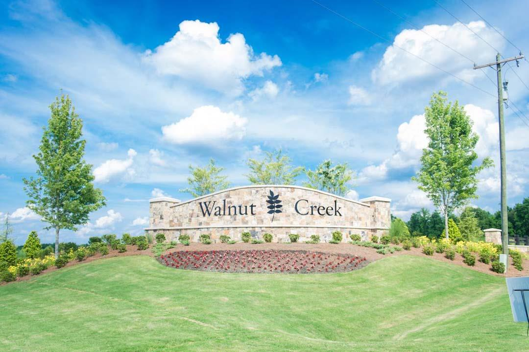 Walnut Creek Community Entrance