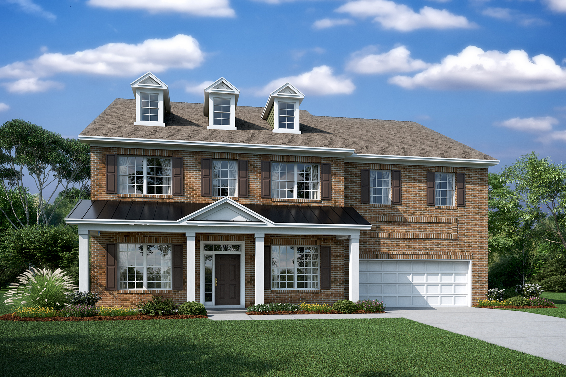 Brooksby Elevation D