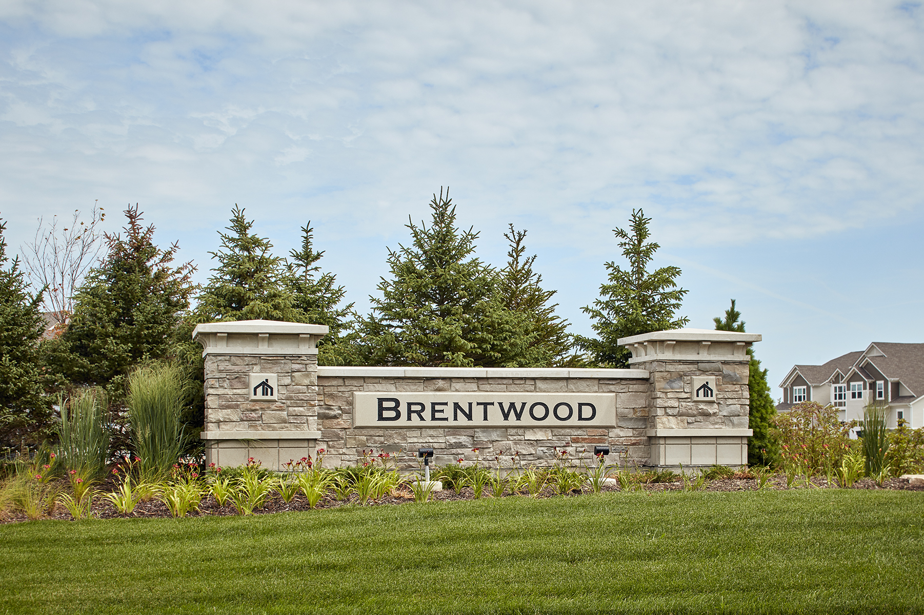 Brentwood Entrance
