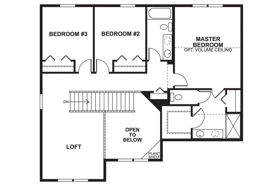 new homes in channahon the baldwin plan m i homes