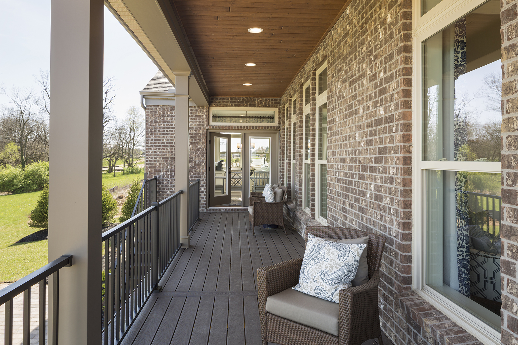 Carriage Hill Covered Deck