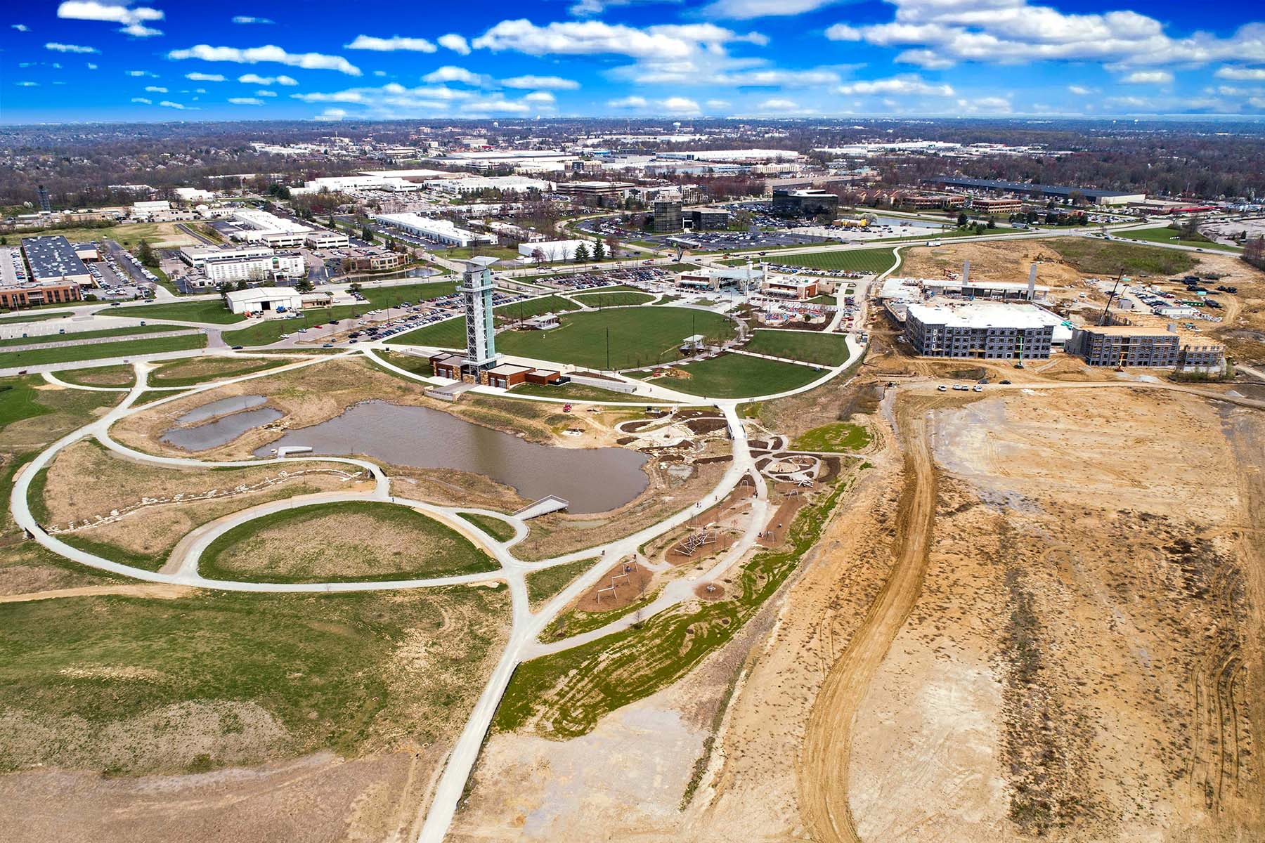 Daventry at Summit Park Aerial