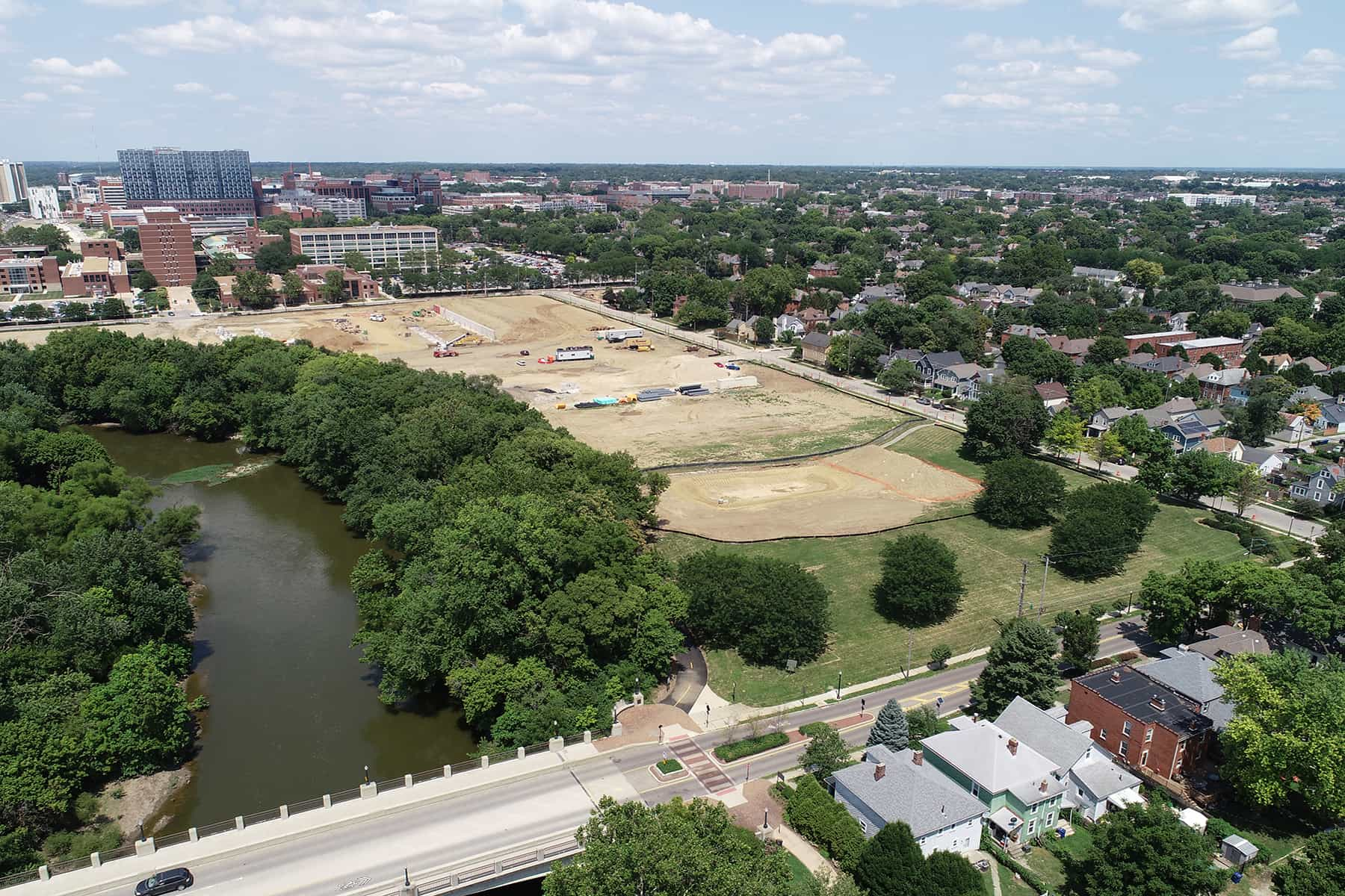 Founders Park Aerial