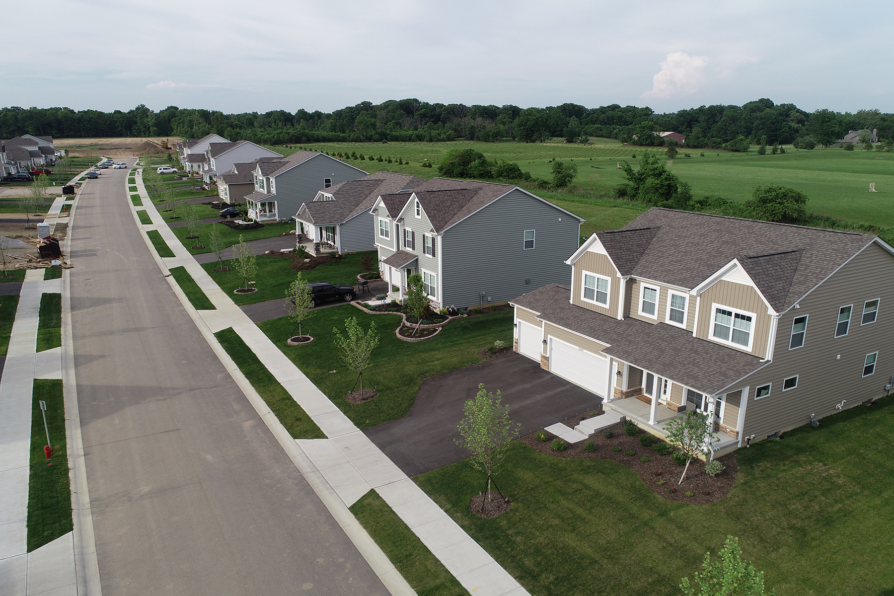 Heron crossing homes for sale in pickerington oh m i homes