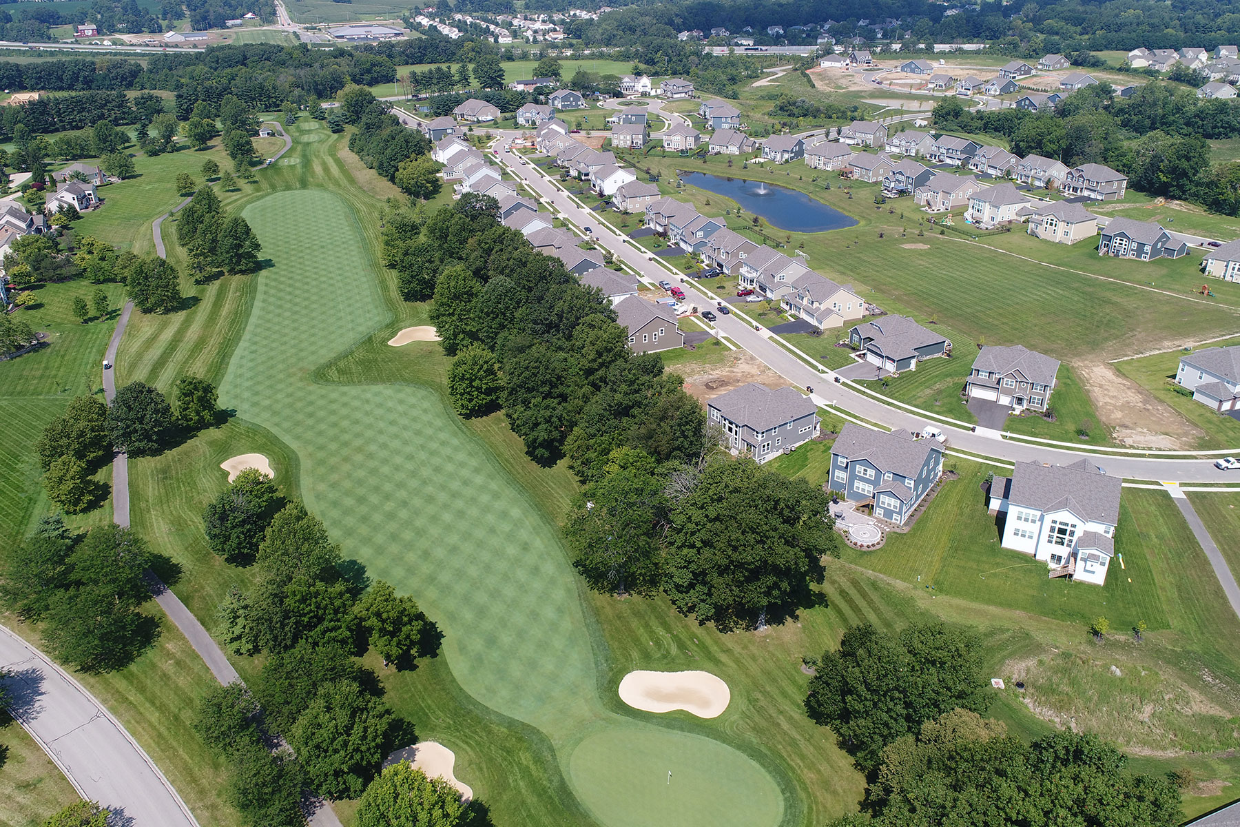 Sanctuary at the Lakes Regency Aerial