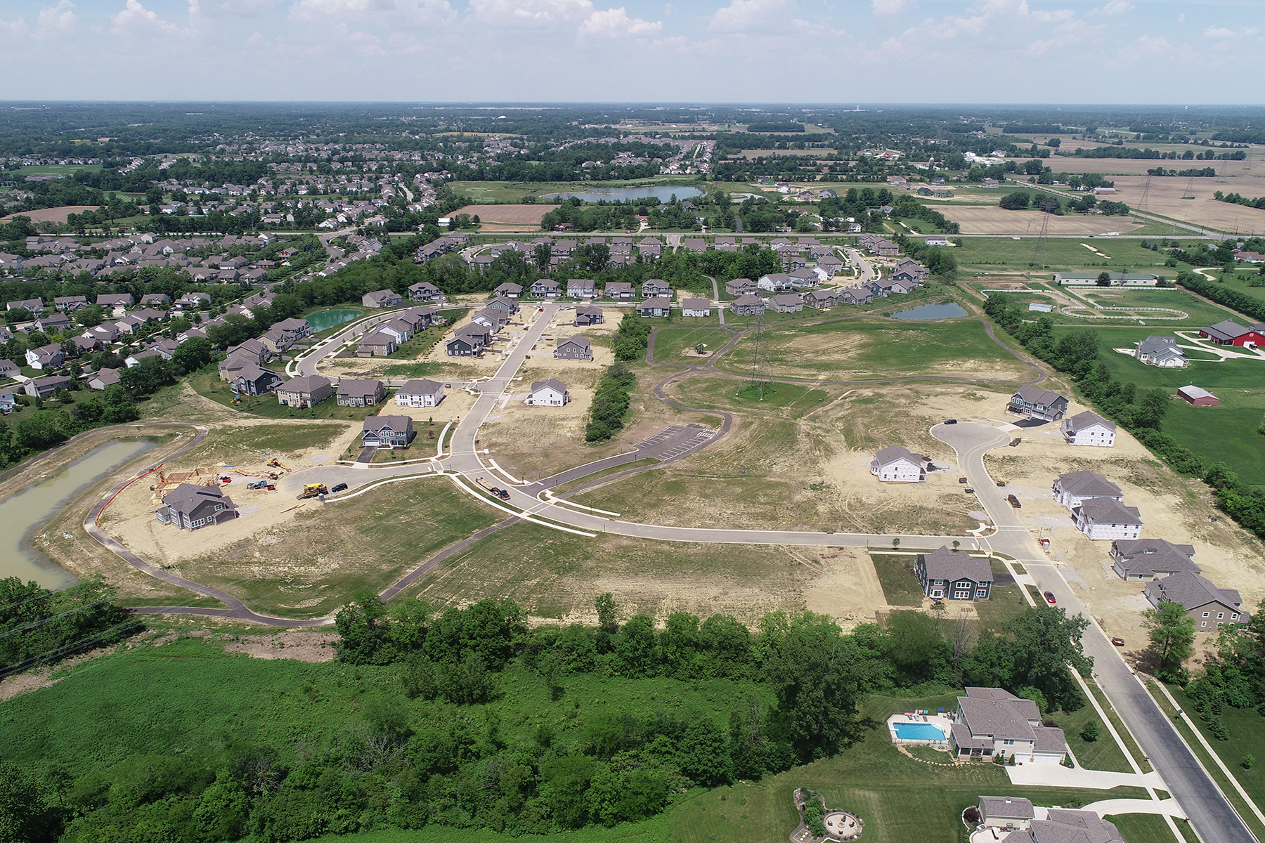 The Reserve at Scioto Glenn Aerial