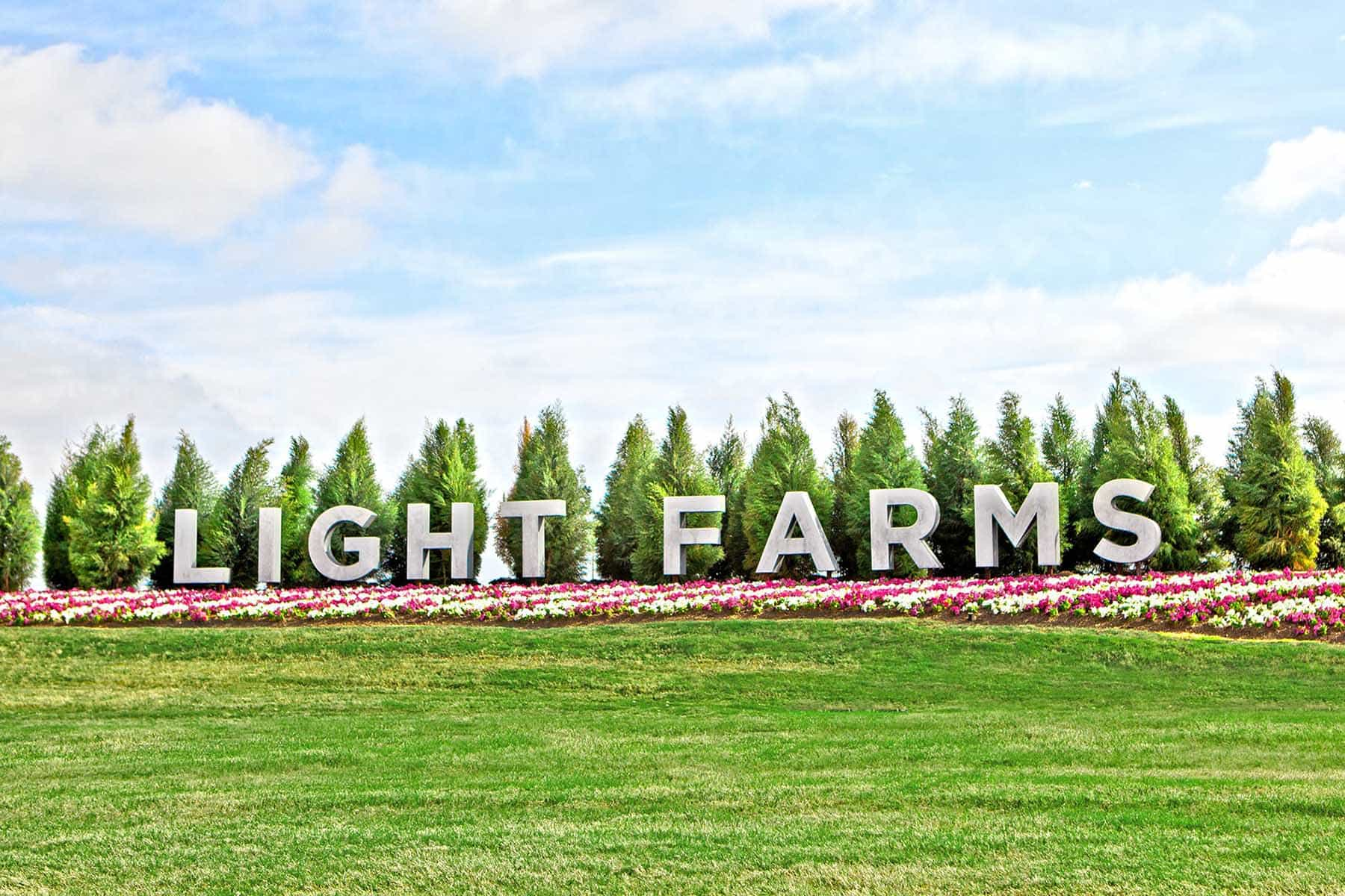 Light Farms Entrance