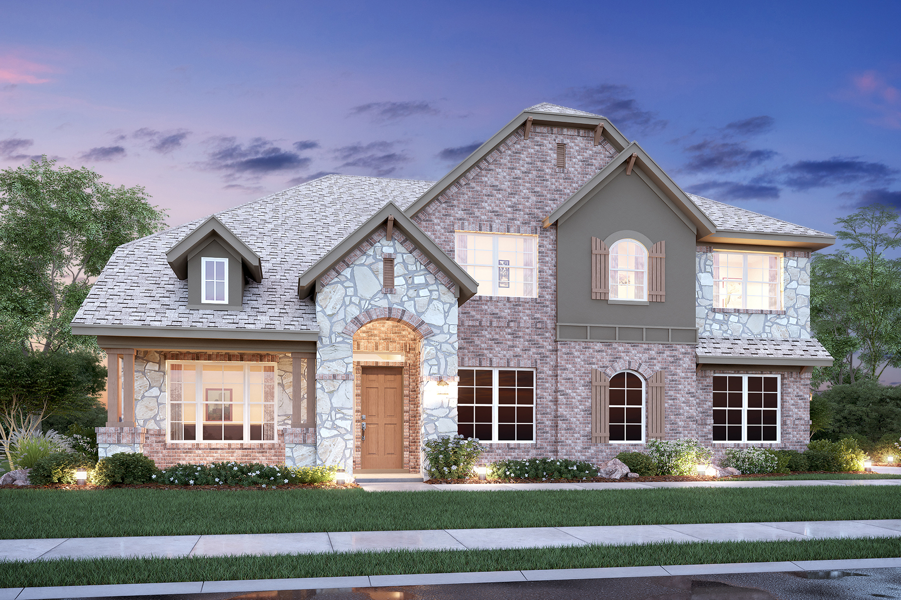 New homes in sunnyvale the drexel plan m i homes - Drexel planning design and construction ...