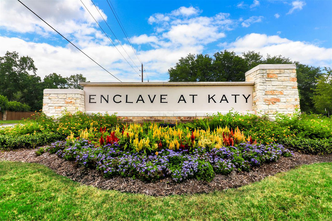 Enclave at Katy Entrance