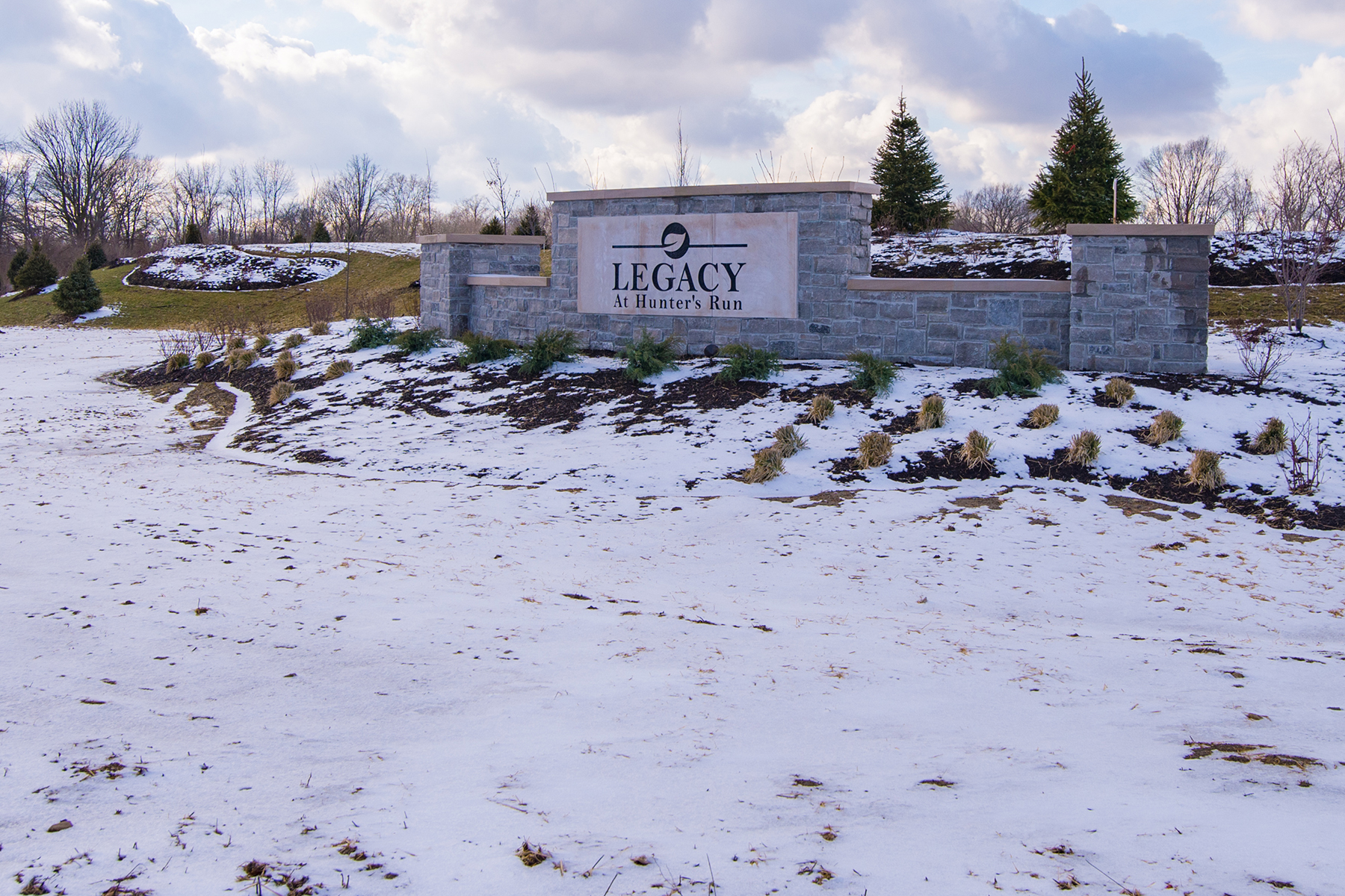 Legacy at Hunter's Run Entrance