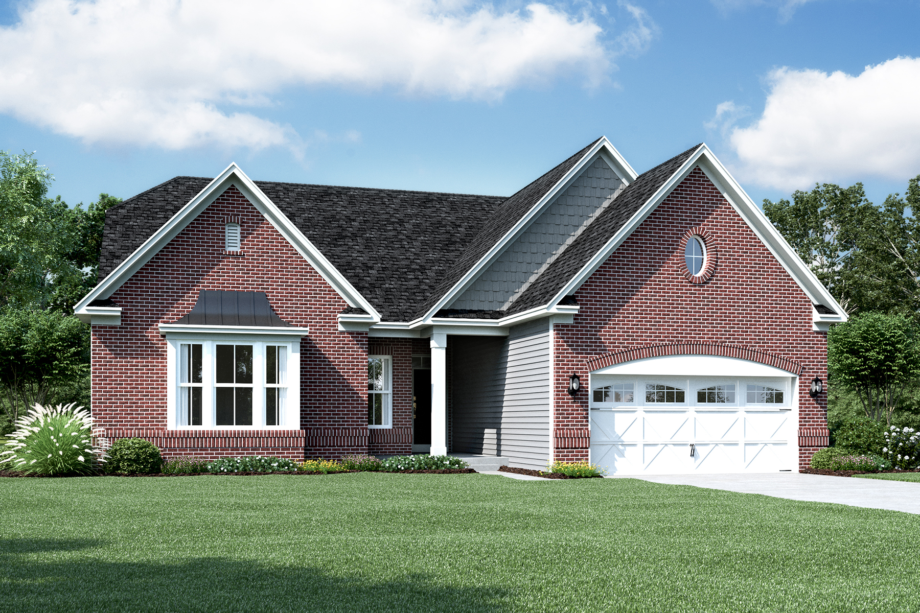 Kentmore III Elevation D French Country