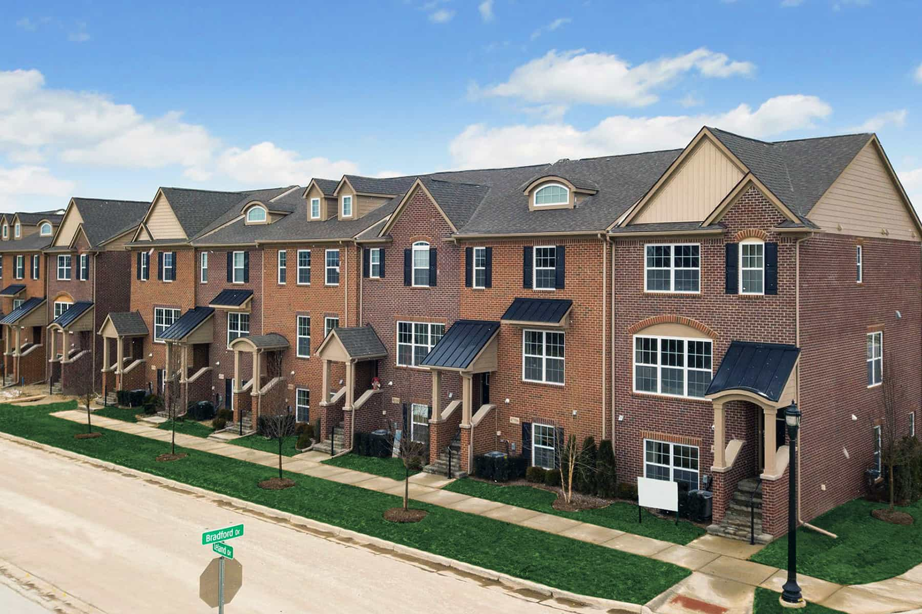 Village at Northville Townhomes Exterior