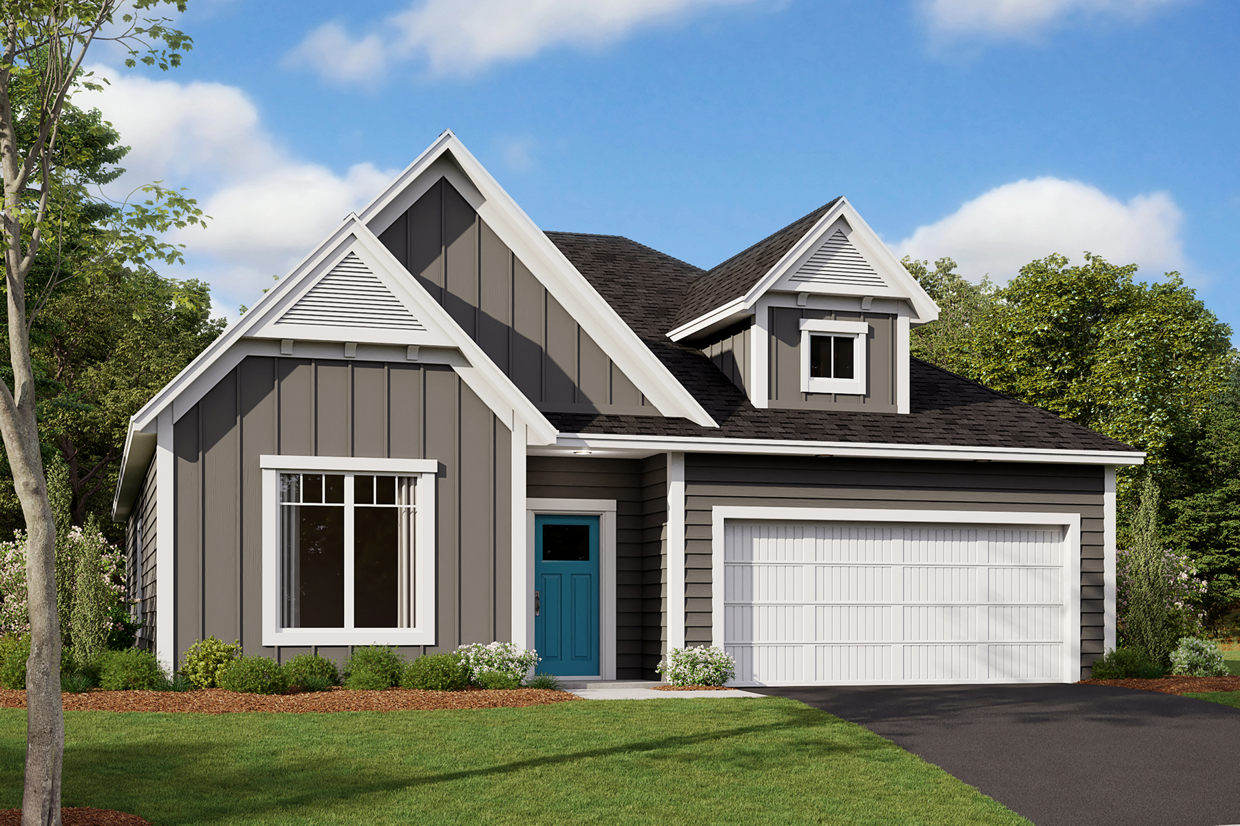 Cedarwood II Elevation E