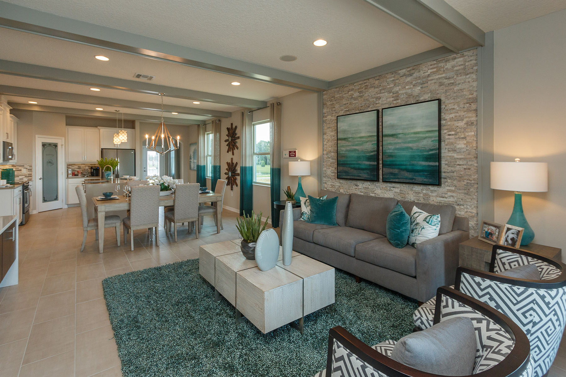 Orange Creek Living Room