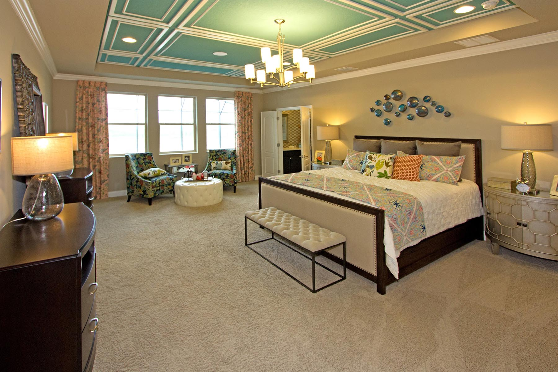 Orange Creek Master Bedroom