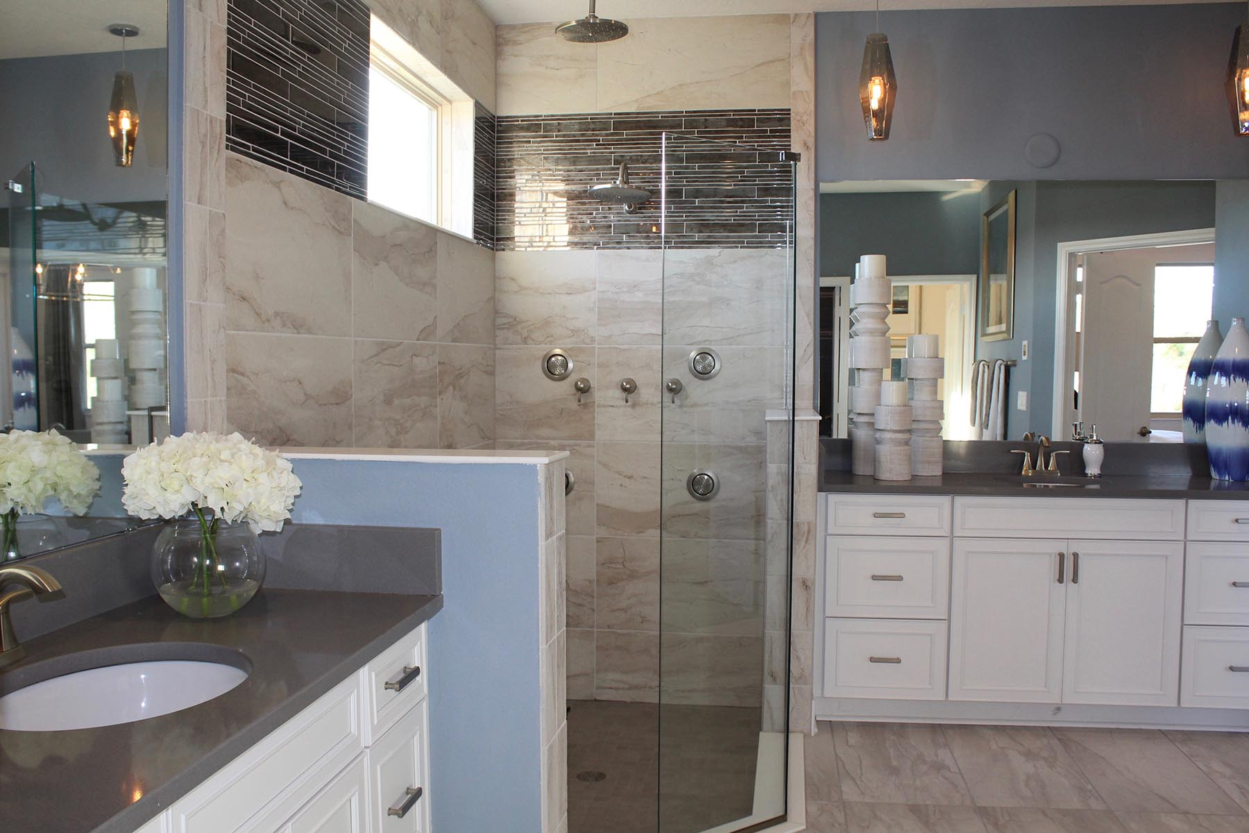Orange Creek Master Bathroom