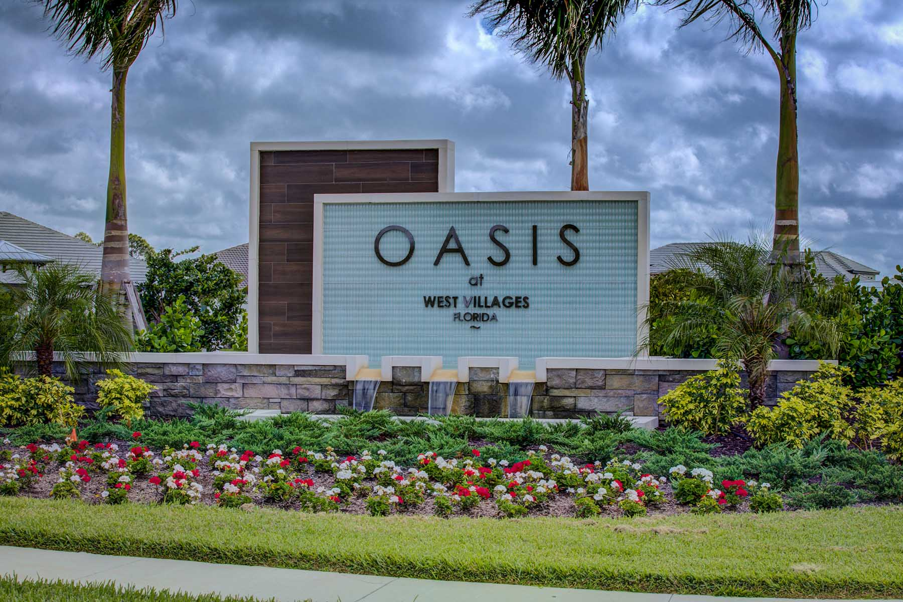 Oasis at West Villages Entry