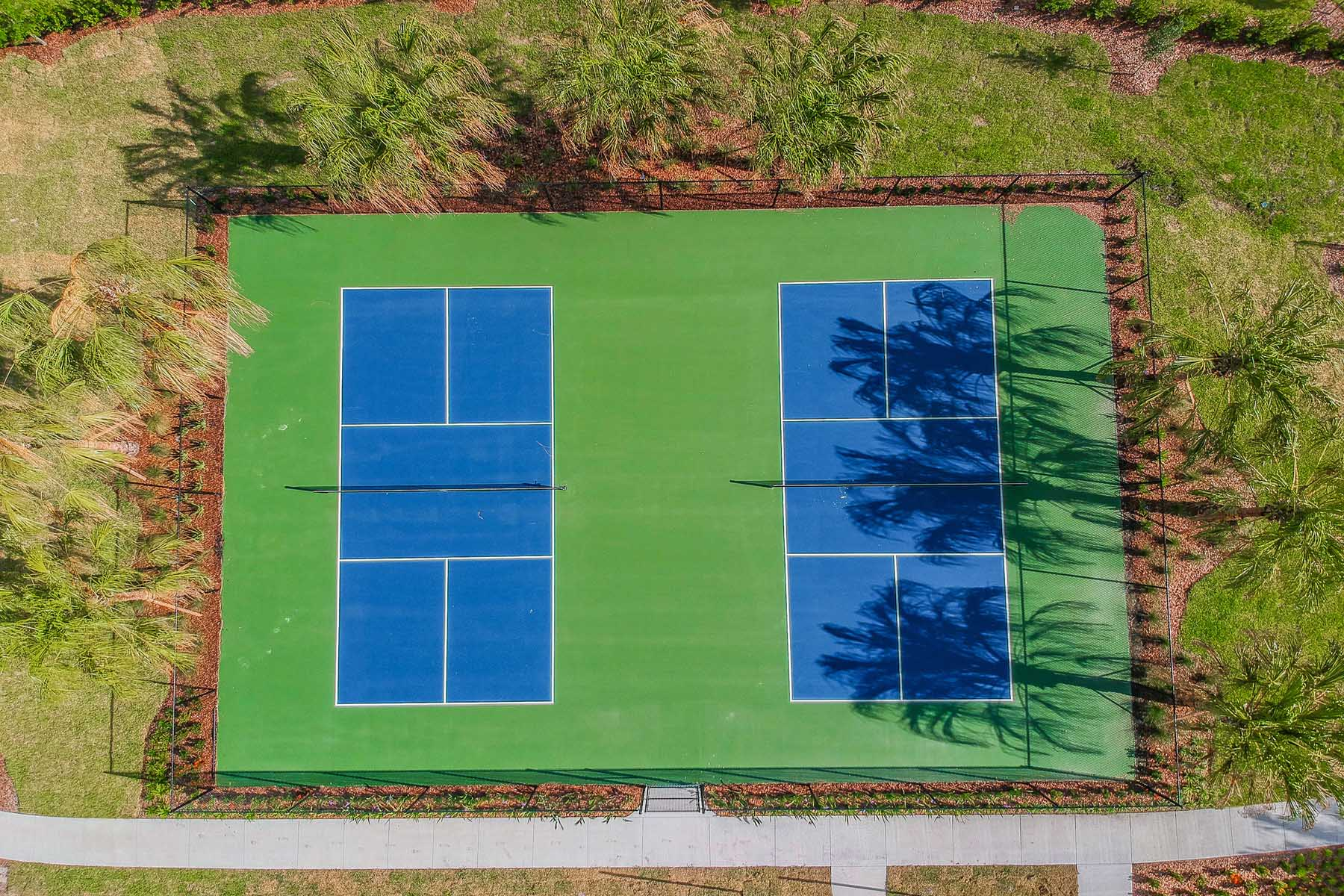 Woodleaf Tennis Courts