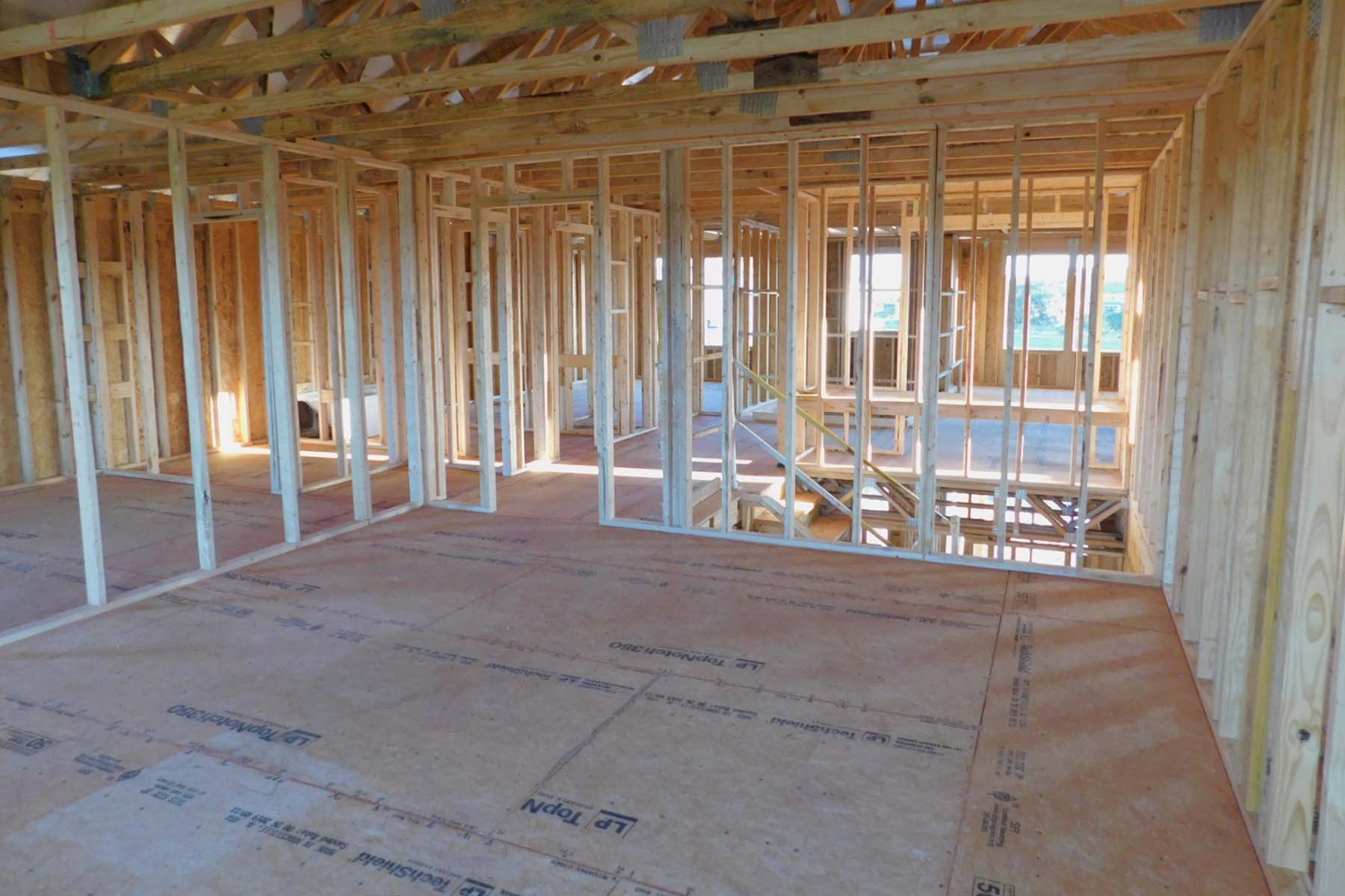 Framing – Owner's Bedroom