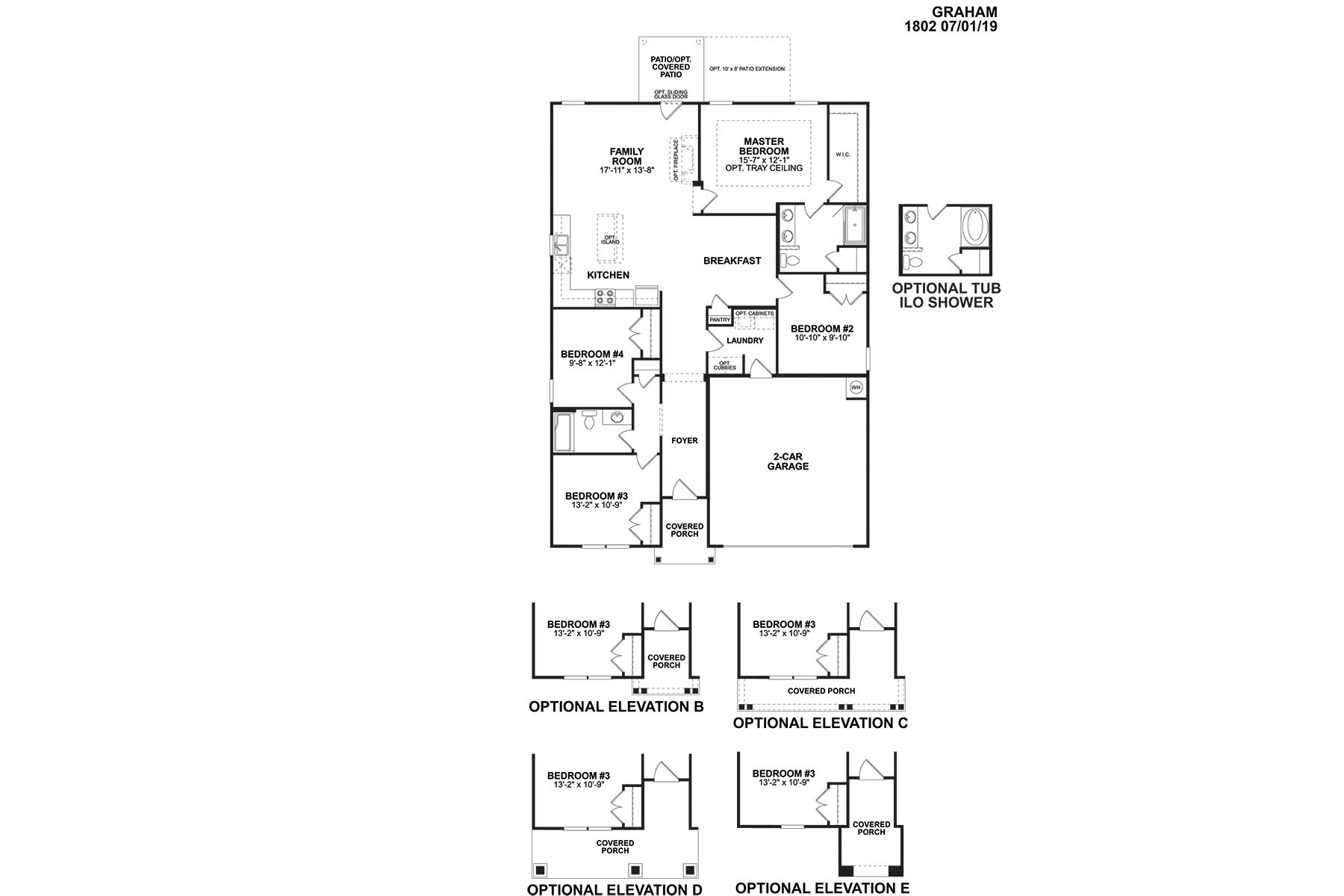 Graham Floorplan