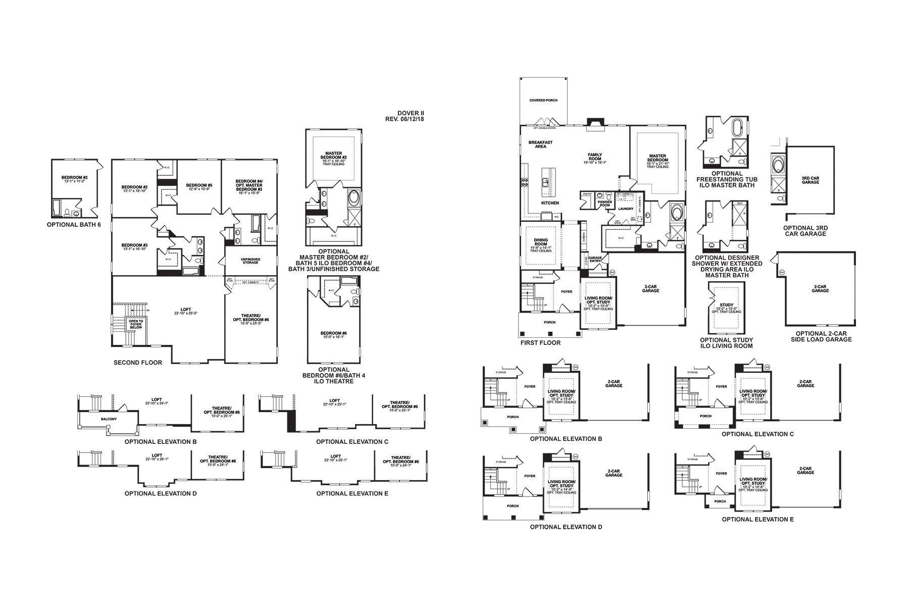 Dover II Floorplan