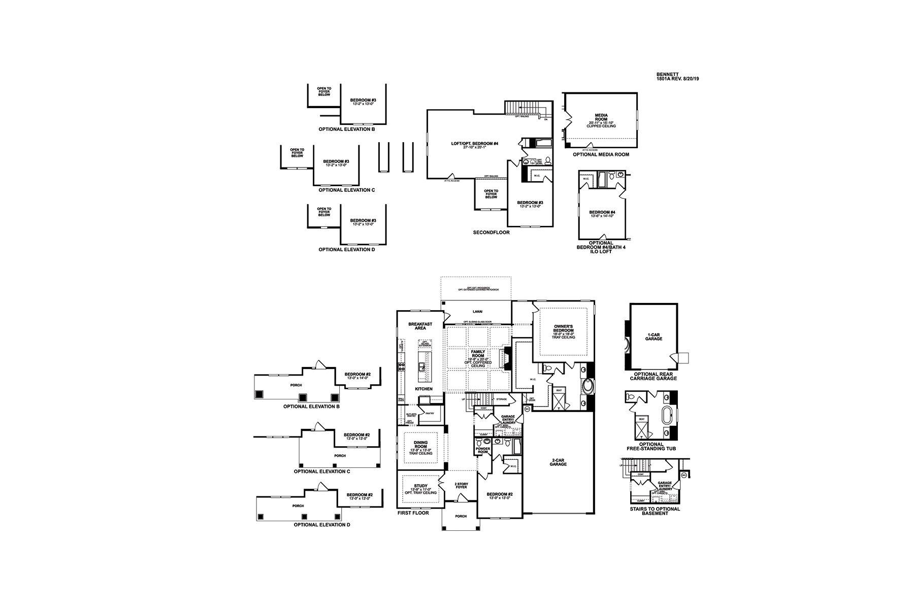 Bennett First Floor