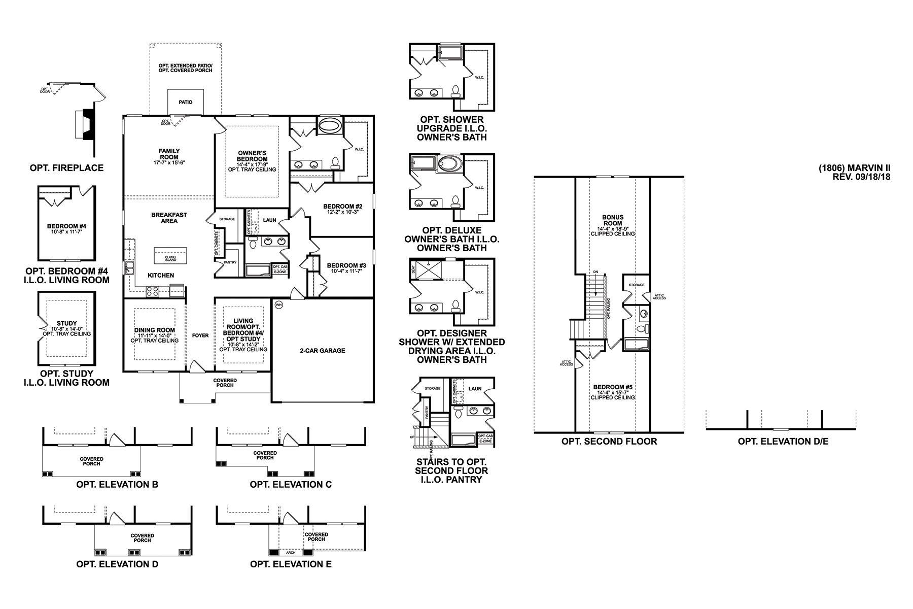 Marvin II Floorplan