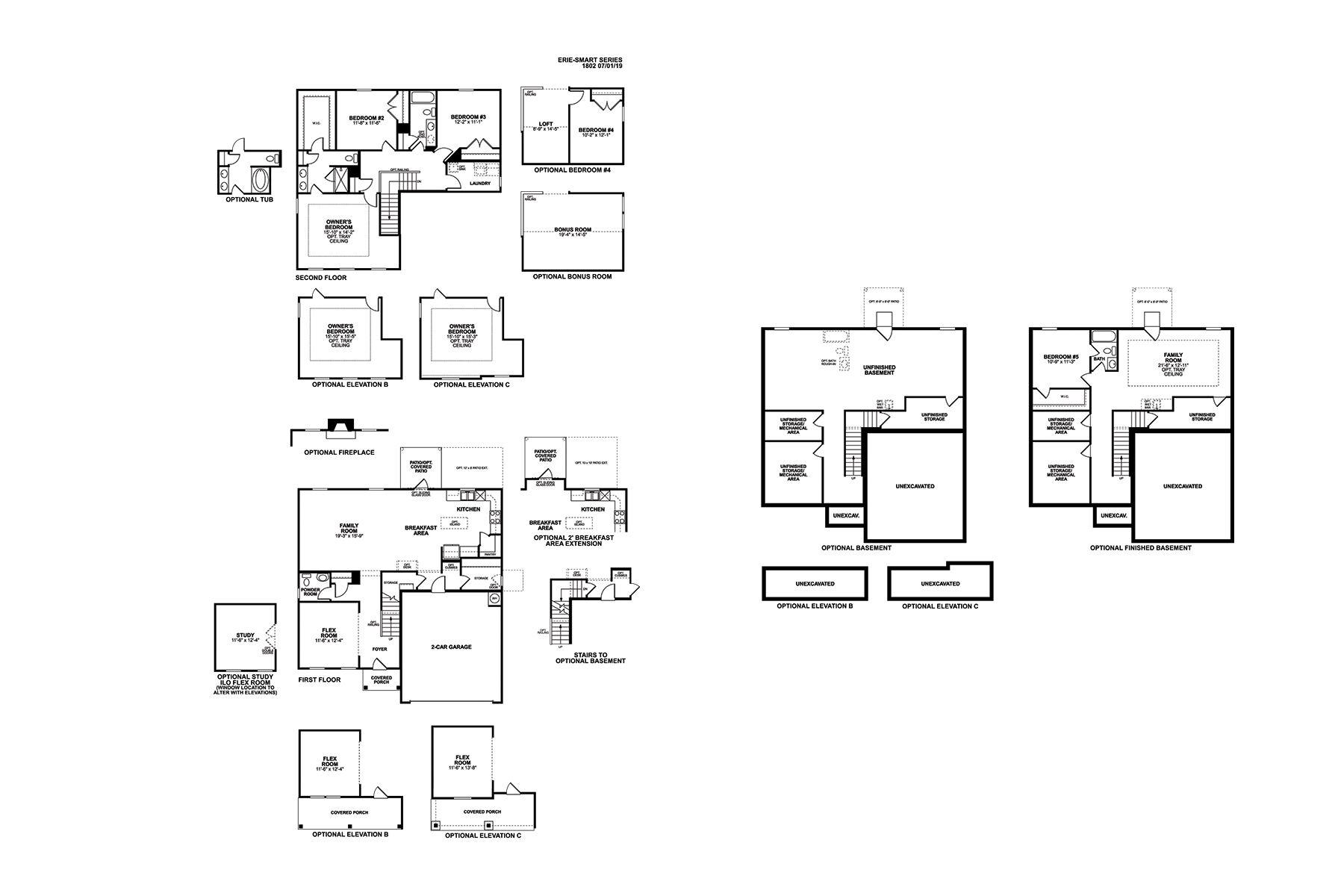 Erie Floorplan