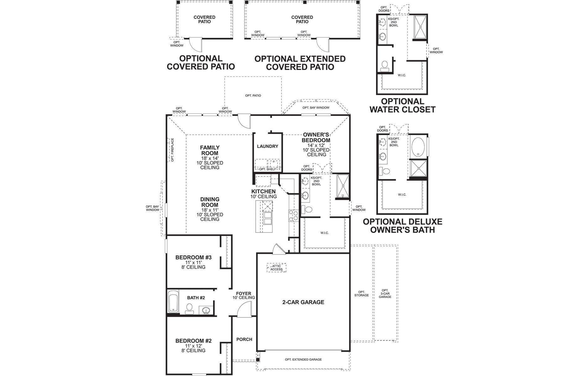 Kingsley Floorplan