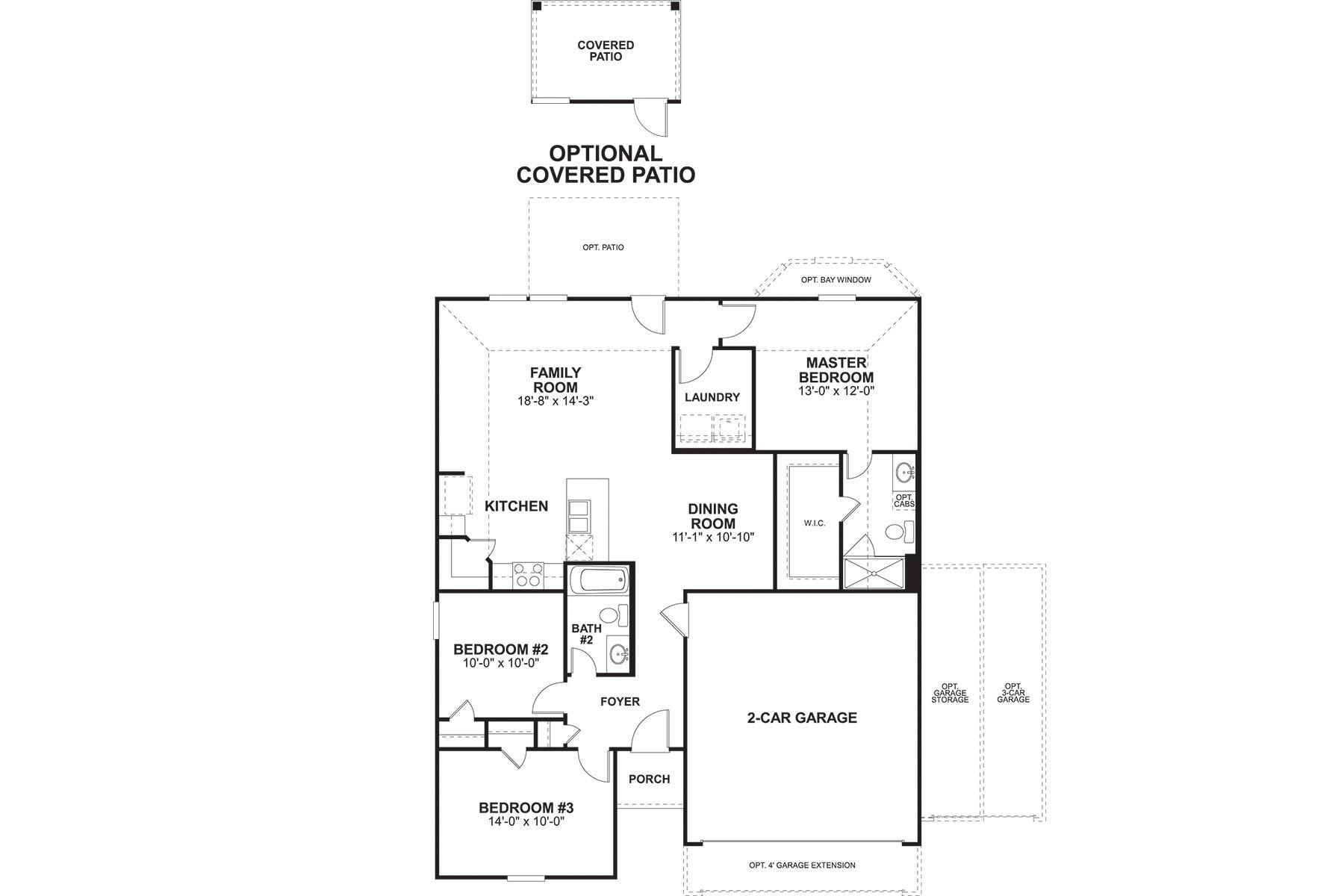 Pineda Floorplan