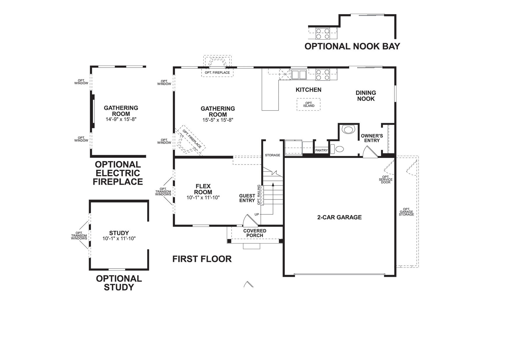 Armstrong First Floor