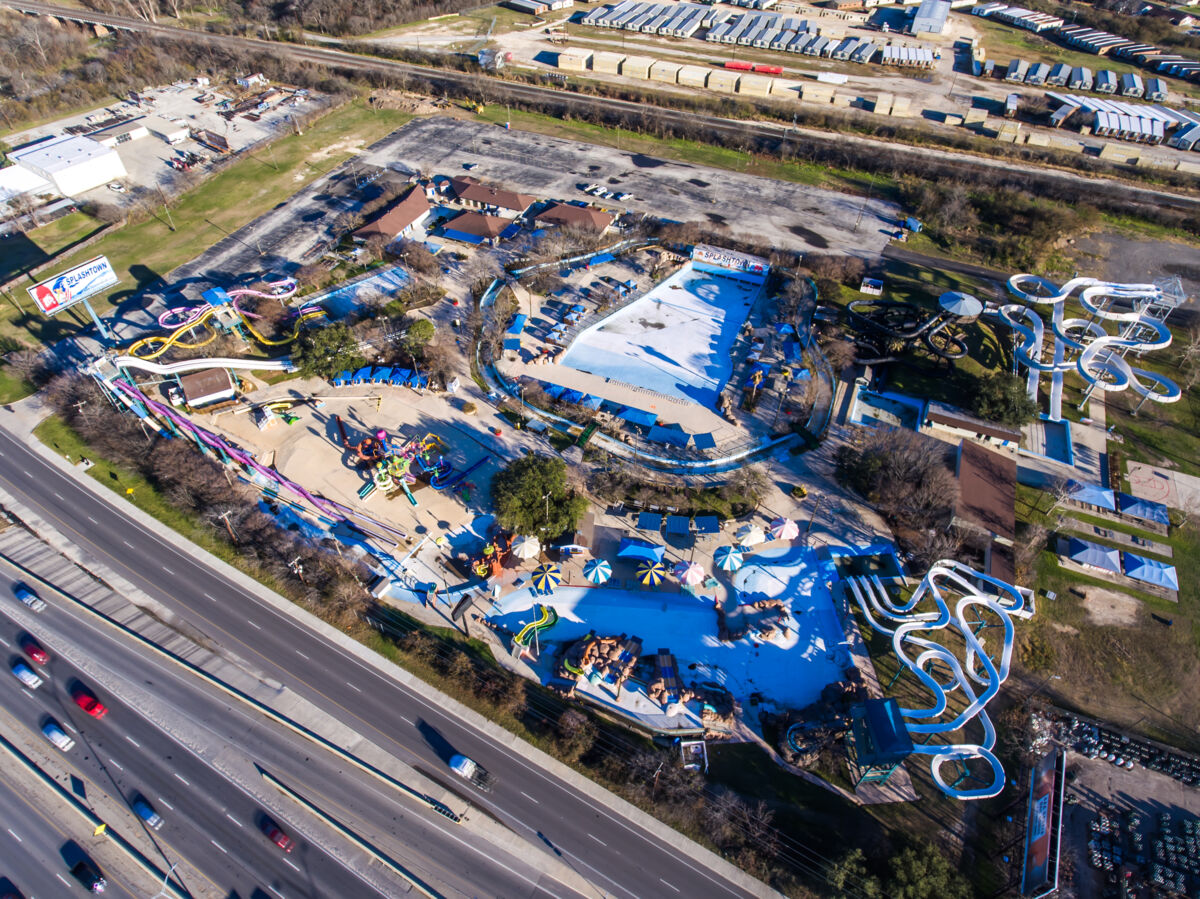 Willow Point Amenity Aerial