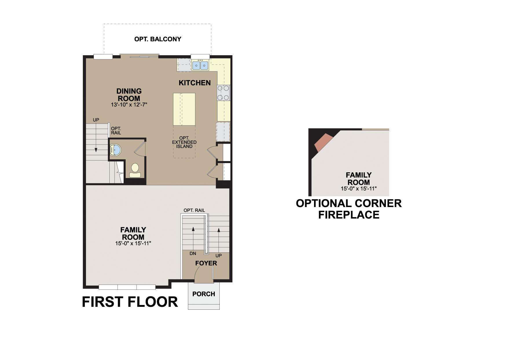 Hudson First Floor