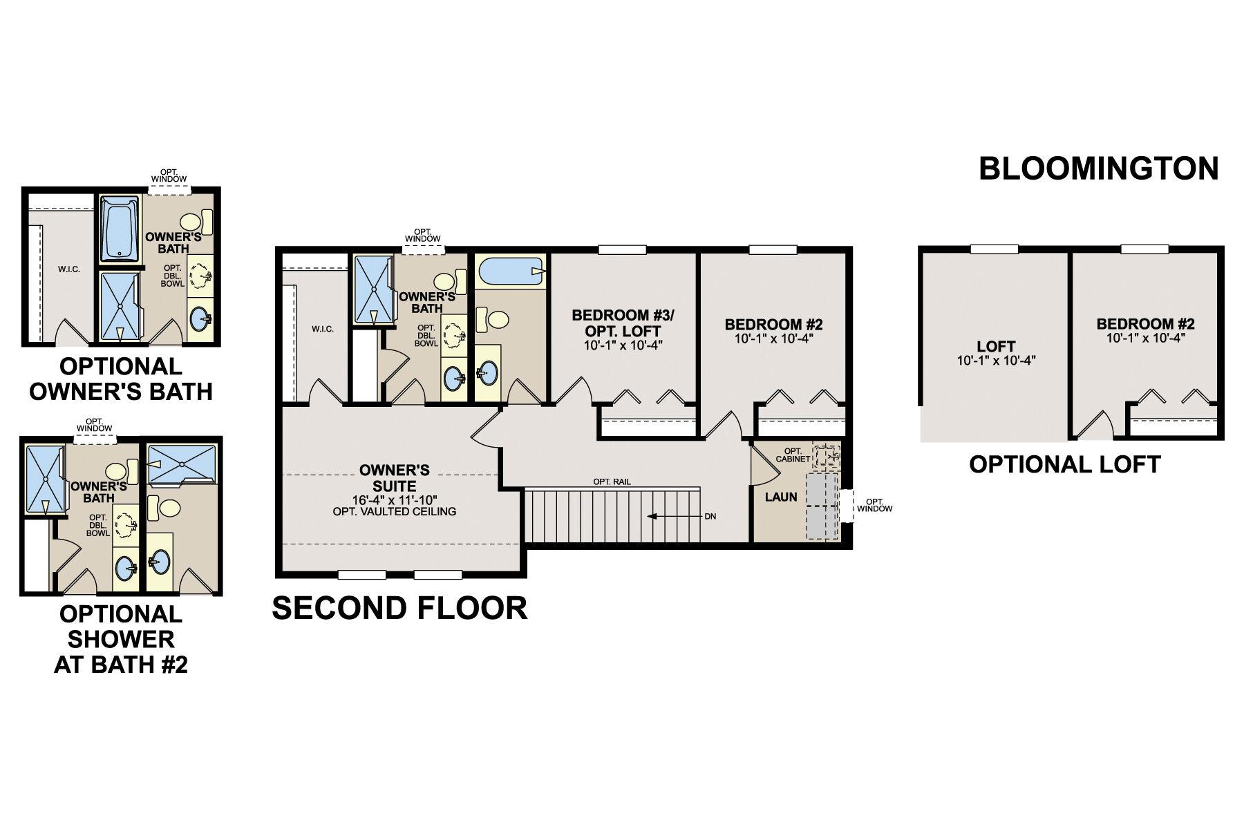 Bloomington Second Floor