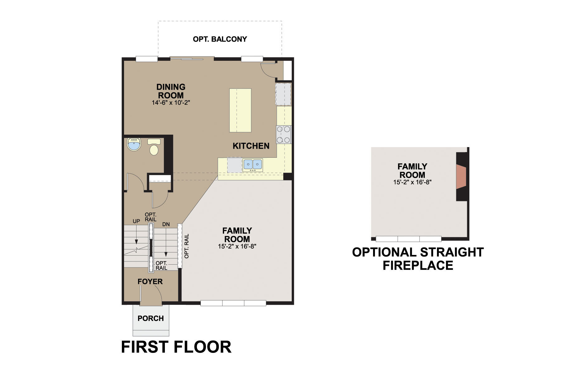 Avery First Floor