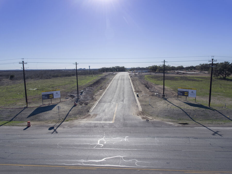 Greenspoint Heights Entrance