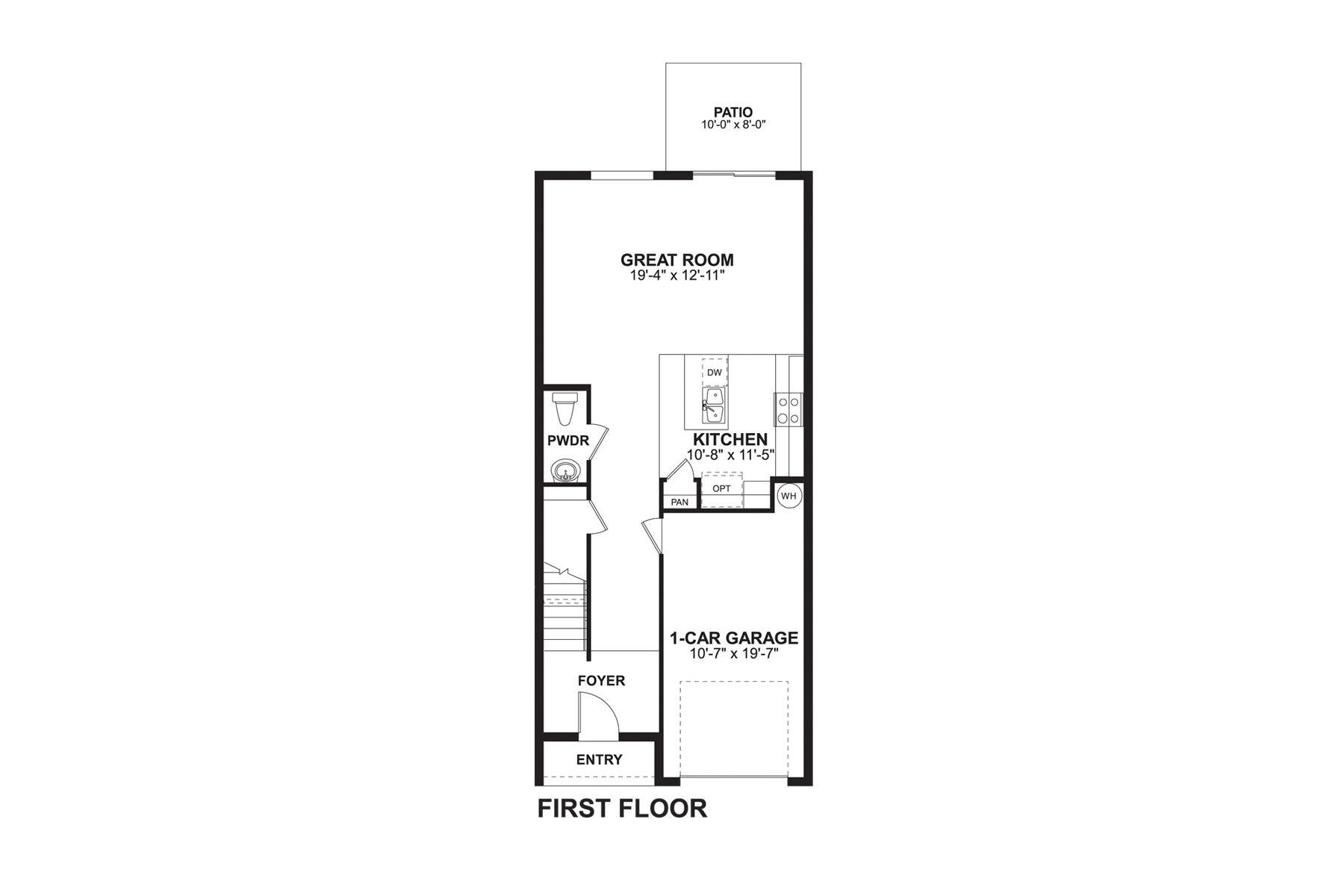 Santa Rosa First Floor