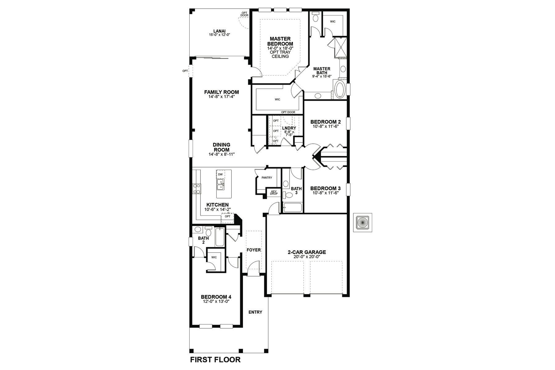 Cambridge Floorplan