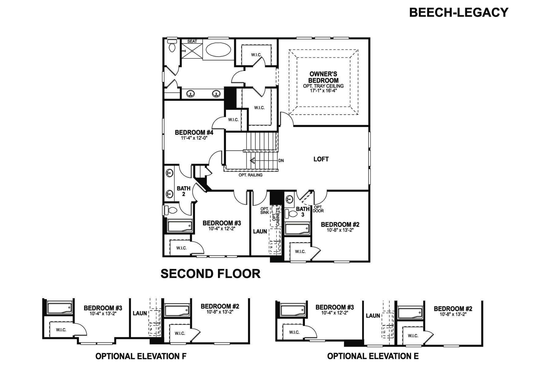 Beech Floorplan