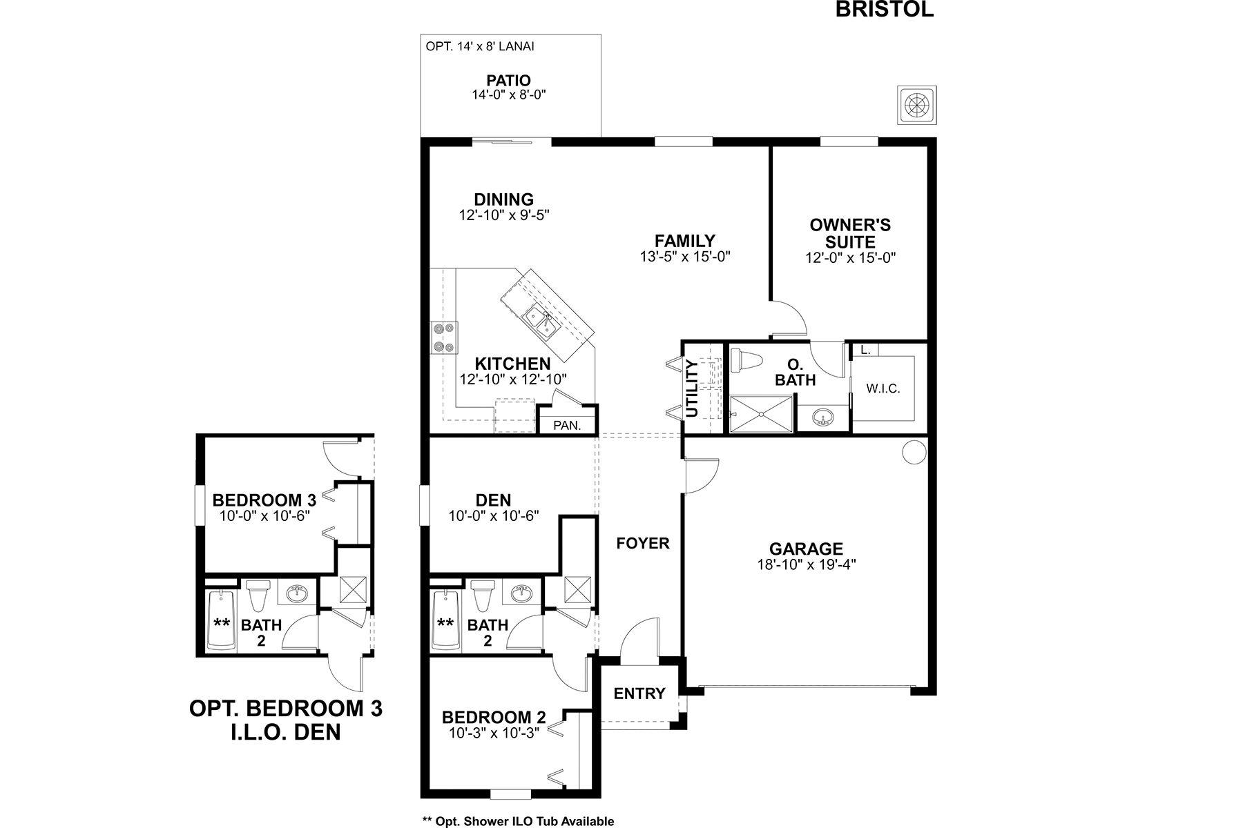 Bristol Floorplan
