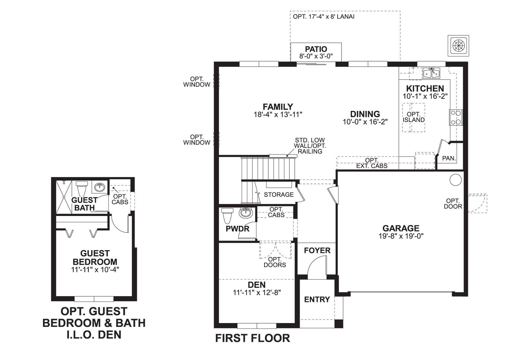 Renau First Floor