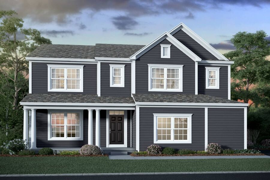 Amherst Elevation A