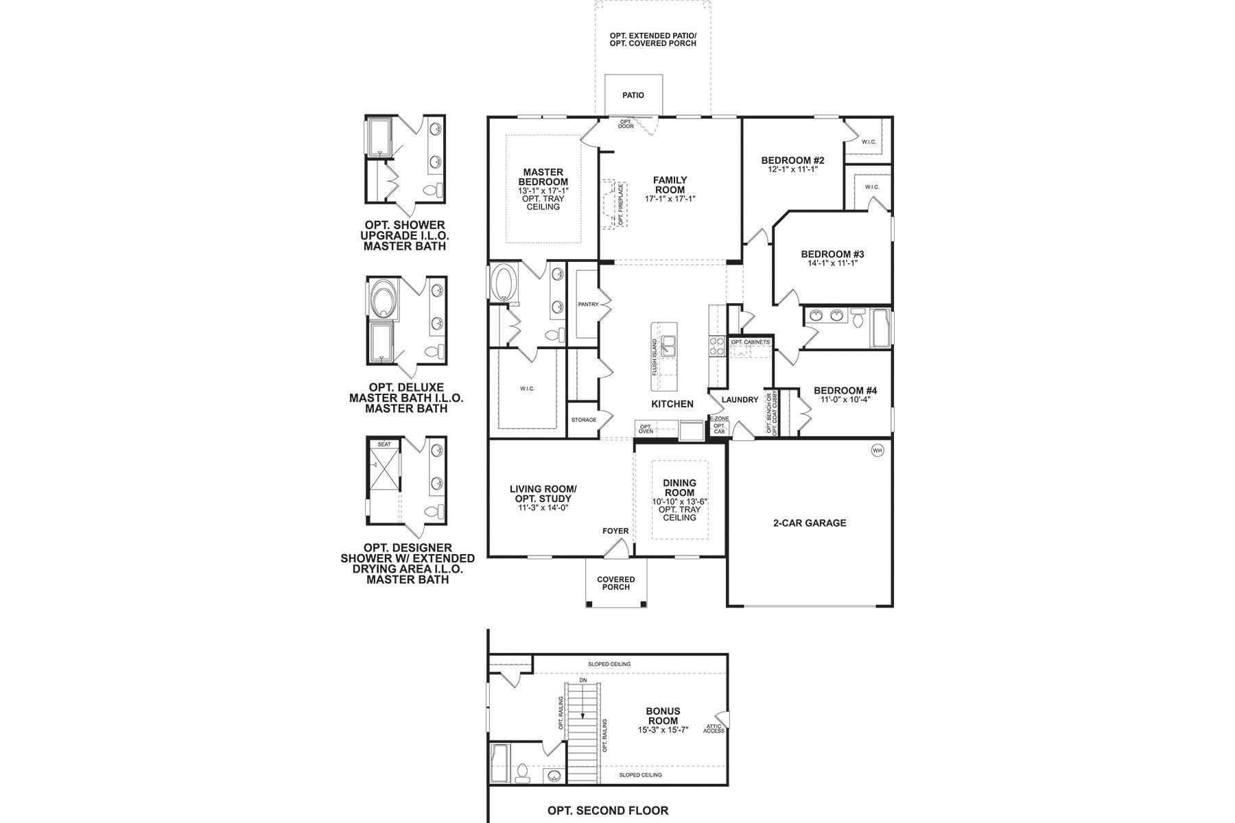 Newport II Floorplan