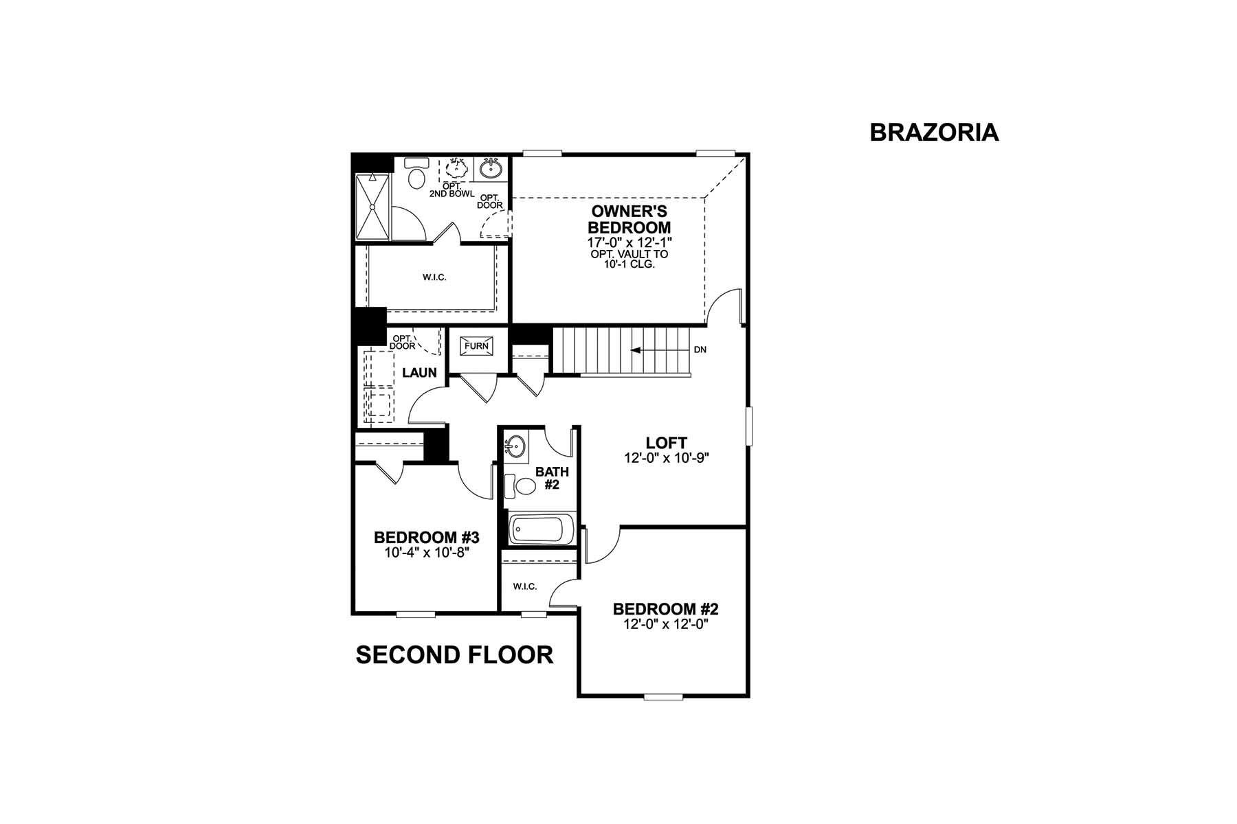 Brazoria Second Floor
