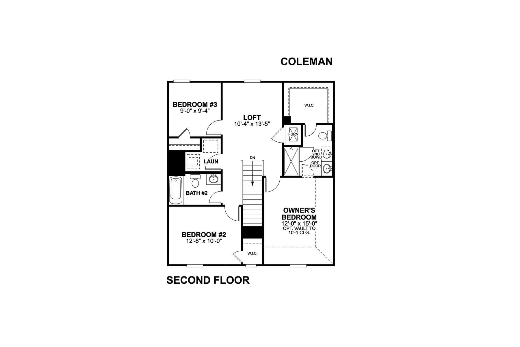 Coleman Second Floor